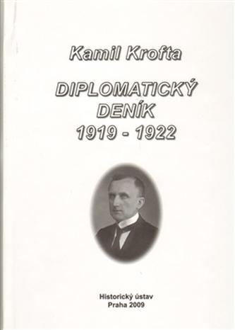 Diplomatický deník 1919 – 1922. - Jindřich Dejmek