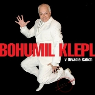 Bohumil Klepl v divadle Kalich