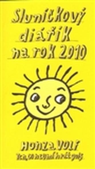 Sluníčkový diářík na rok 2010