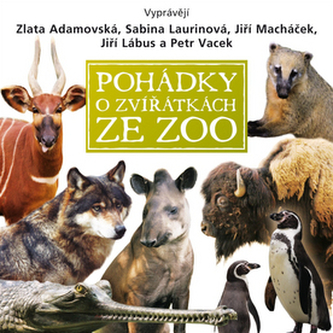 CD-Pohádky o zvířátkách ze zoo