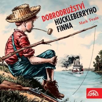 Dobrodružství Huckleberryho Finna - CD - Mark Twain