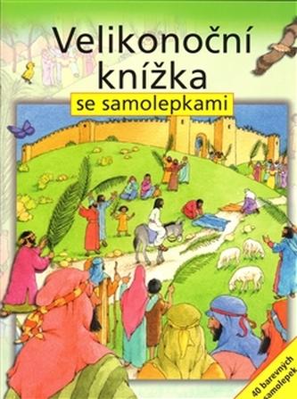 Velikonoční knížka se samolepkami