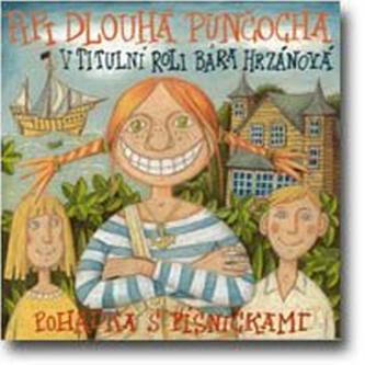 CD-Pipi Dlouhá punčocha - Astrid Lindgrenová