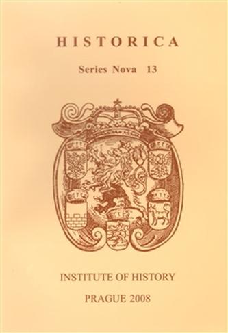 Historica. Series Nova 13