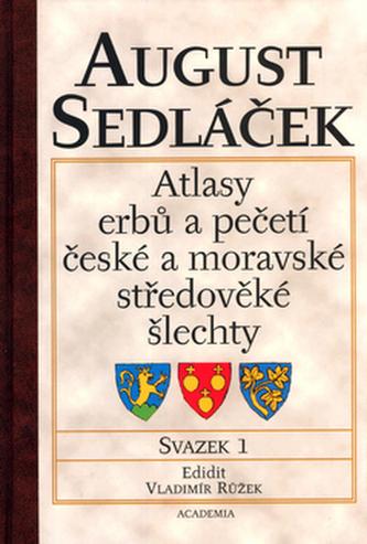 Atlasy erbů a pečetí české a moravské středověké šlechty