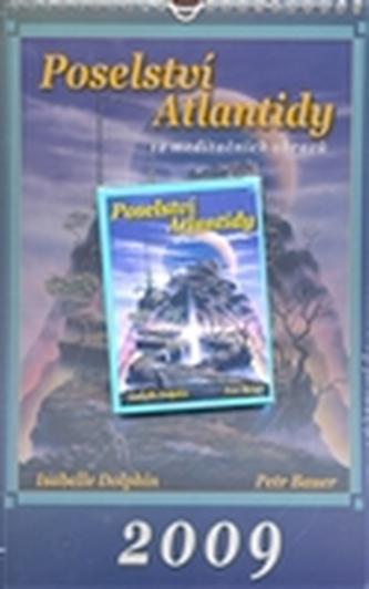 Poselství Atlantidy (kalendář 2009 + karty)