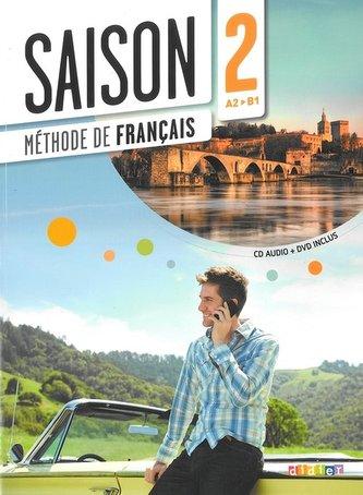 Saison 2 podręcznik + CD Audio + DVD poziom A2-B1 - Cocton Marie-Noelle