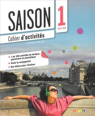 Saison 1 ćwiczenia + CD Audio poziom A1-A2 - Alcazar Marion, Escufier Dorothee, Gomy Camille
