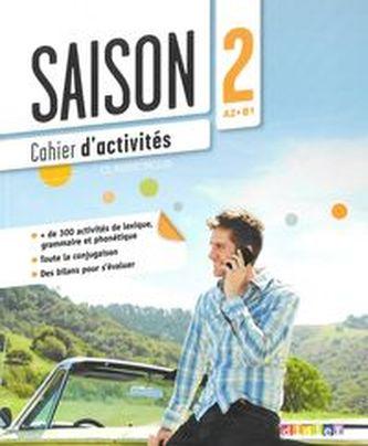 Saison 2 ćwiczenia + CD Audio poziom A2-B1 - Cartier Isabell, Dereeper Camille, Gomy Camille