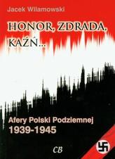 Honor, zdrada kaźń Tom 2