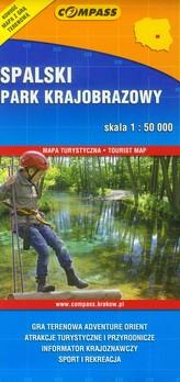 Spalski Park Krajobrazowy mapa turystyczna