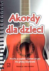 Akordy dla dzieci Keyboard i gitara