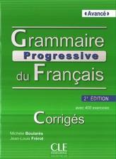 Grammaire Rrogressive du Francais Avance klucz 2 edycja