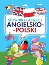 Słownik dla dzieci angielsko-polski + CD