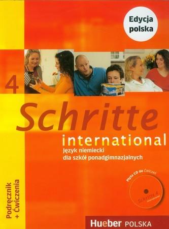 Schritte international 4 Podręcznik z ćwiczeniami + CD / Zeszyt maturalny Pakiet Język niemiecki - Niebisch Daniela, Penning-Hiem
