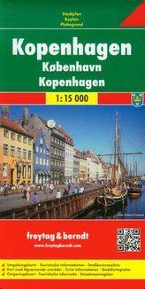 Kopenhaga plan miasta 1:15 000