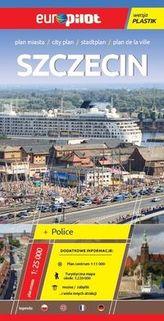 Szczecin Police Plan miasta 1:25000 laminowany