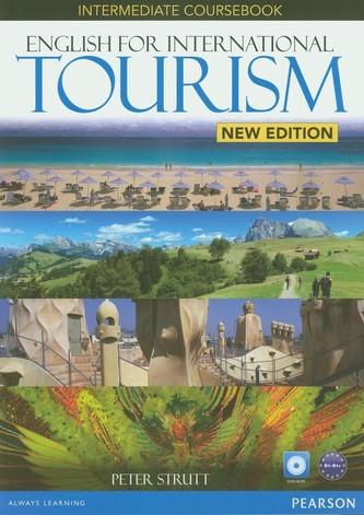 English for International Tourism Intermediate Coursebook + DVD - Strutt Peter