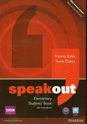 Speakout Elementary Students' Book + DVD - Eales Frances, Oakes Steve