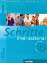 Schritte international 5 Podręcznik z ćwiczeniami + CD / Zeszyt maturalny XXL Język niemiecki