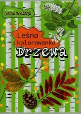 Drzewa Leśna kolorowanka