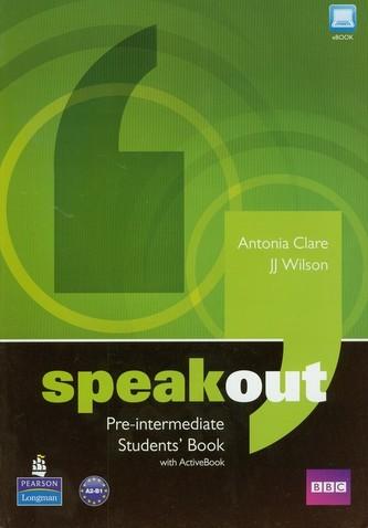Speakout Pre-Intermediate Students' Book + DVD - Clare Antonia, Wilson JJ
