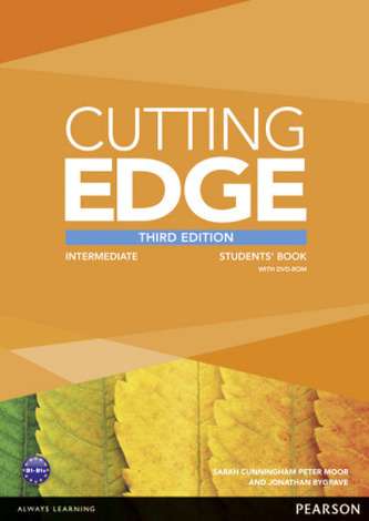 Cutting Edge 3rd Edition Intermediate Students´ Book and DVD Pack