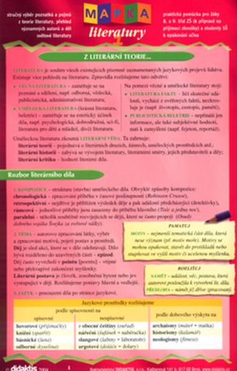 Mapka literatury 1