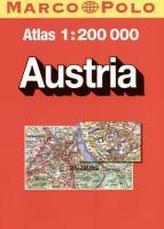 Atlas samochodowy Austria 1:200 000