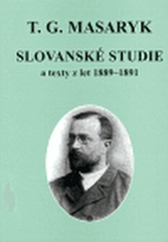 Slovanské studie a texty z let 1889-1891
