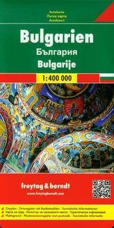 Bułgaria mapa drogowa 1:400 000