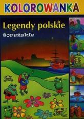 Legendy polskie toruńskie kolorowanka