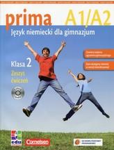 Prima 2 Zeszyt ćwiczeń z płytą CD