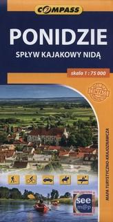 Ponidzie mapa turystyczno - krajoznawcza 1:75 000