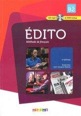 Edito Nouveau B2 Podręcznik + CD i DVD