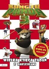 Kung Fu Panda 3. Wielka księga zadań z naklejkami