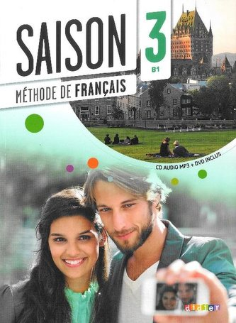 Saison 3 (B1) učebnice + CD + DVD - Náhled učebnice