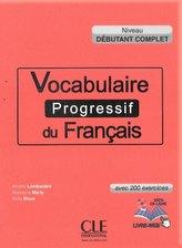 Vocabulaire progressif du francais  Niveau debutant complet Książka +CD