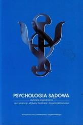 Psychologia sądowa Wybrane zagadnienia