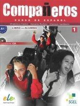 Companeros 1 Podręcznik + płyta CD bez dodatku extra