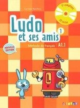 Ludo et ses amis 1 niveau A1.1 2015+CD