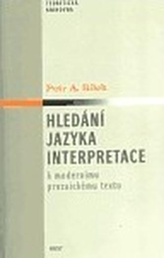 Hledání jazyka interpretace
