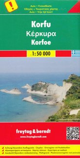 Korfu mapa 1:50 000