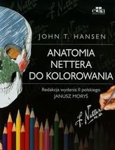 Anatomia Nettera do kolorowania