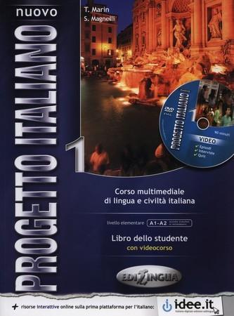 Nuovo Progetto italiano 1 Podręcznik + Słowniczek i elementy gramatyki - Magnelli Sandro, Marin Telis