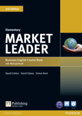 Market Leader 3rd Edition Elementary Coursebook with DVD-ROM and MyEnglishLab Student online access code Pack