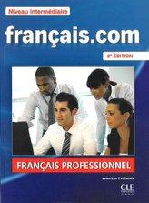 Francais.com Niveau intermediaire Podręcznik + DVD + guide communication