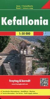 Kefalonia Mapa samochodowa 1:15 000