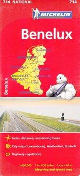 Benelux mapa 1:400 000