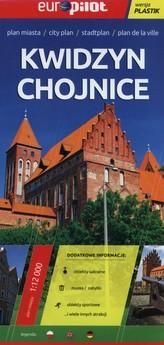 Kwidzyn Chojnice plan miasta 1:12 000 laminowany